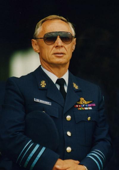 Wilfried de Brouwer, Air Force Major General (Ret.)