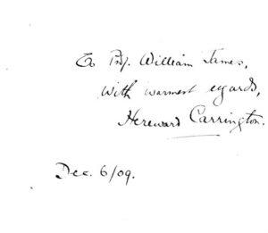 """Hereward Carrington's original classic """"Eusapia Palladino and her Phenomena"""""""