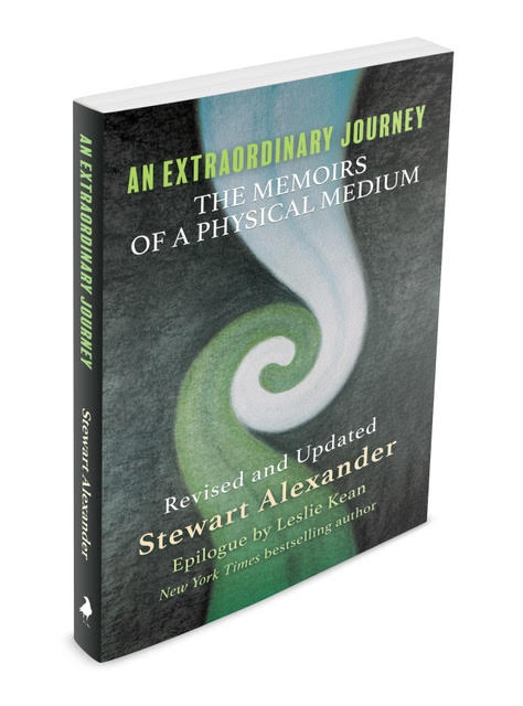 An Extraordinary Journey: The Memoirs of a Physical Medium (White Crow Books, 2020) by Stewart Alexander